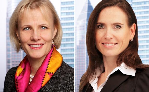 Sofia Harrschar und Janet Zirlewagen von Universal Investment