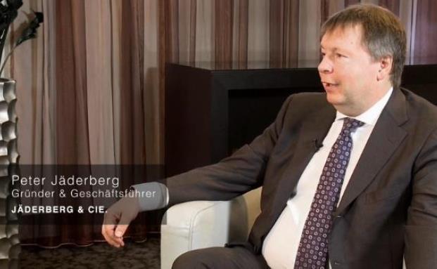 Peter Jäderberg von der Investmentboutique Jäderberg & Cie.