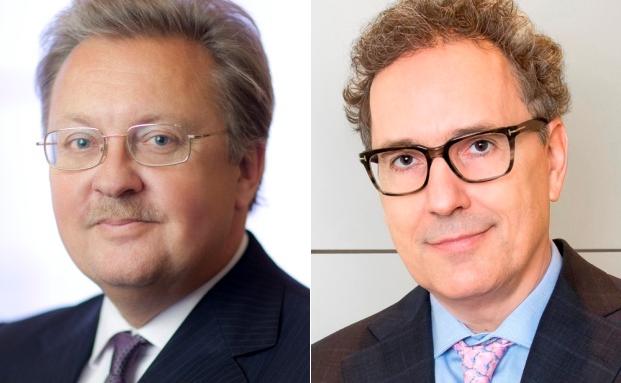 Krentschker-Vorstandschef Georg Wolf-Schönach und Vorstand Alexander Eberan