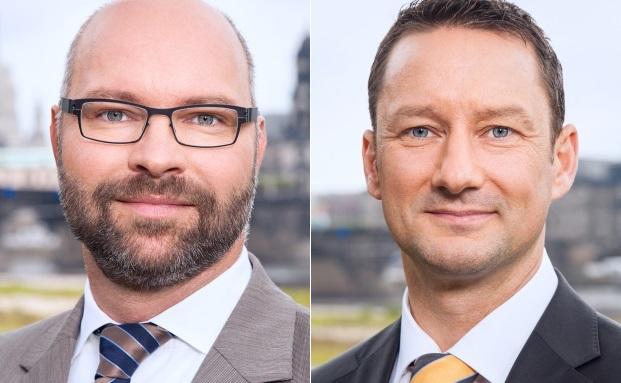 Führen nach dem Weggang von Rocco Damm zu zweit die Vermögensverwaltung Damm Rumpf Hering weiter: Marco Rumpf (links) und Lutz Hering
