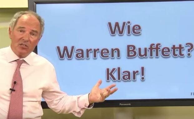Aufklärungsvideo für Kunden: So investiert Warren Buffett