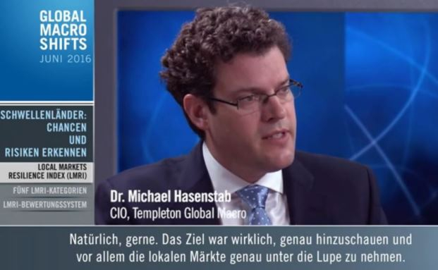 Michael Hasenstab, Investmentchef von Templeton Global Macro bei Franklin Templeton