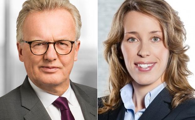 Wolfgang Richter (li.) Partner und Geschäftsführer der Wirtschaftsprüfungsgesellschaft Baker Tilly Roelfs und Yvonne Brückner vom Institut für unternehmerische Zukunftsstrategien Resfutura