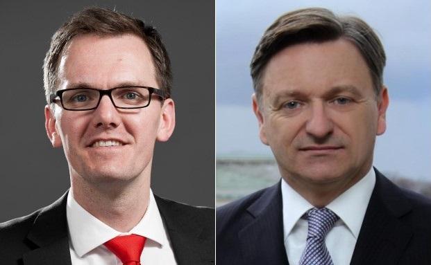 Daniel Welker (links) und Thomas Gütschow vom neugegründeten Institut für Vermögensstrukturierung