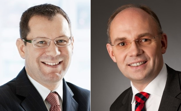 Felix Brem (links) und Axel Rohr von der Reuss Private Group