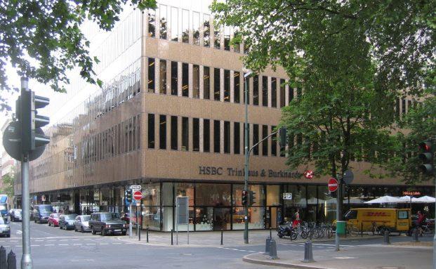 Hauptsitz von HSBC Deutschland in Düsseldorf: Die Experten der britischen Großbank fürchten, dass die neuen Kreditkonditionen den Immobilienboom bremsen könnten