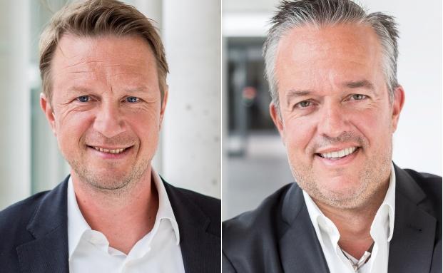 Marc Lukies (li.) und Fressnapf-Gründer Torsten Toeller