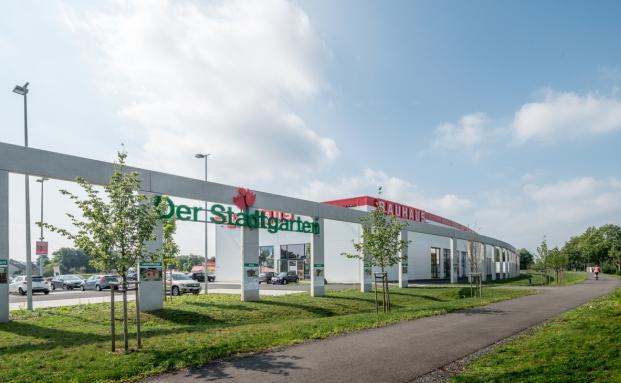 Das Investitionsobjekt des Pluswertfonds 166: der Bauhaus-Fachmarkt in Bonn