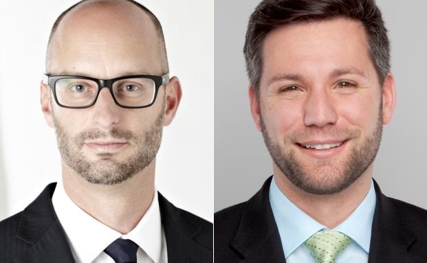 Hans Christian Blum (li.) und Michael Schellenberger von der Rechtsanwaltskanzlei CMS Hasche Sigle