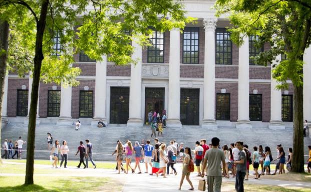 Der Campus der US-Eliteuni Harvard
