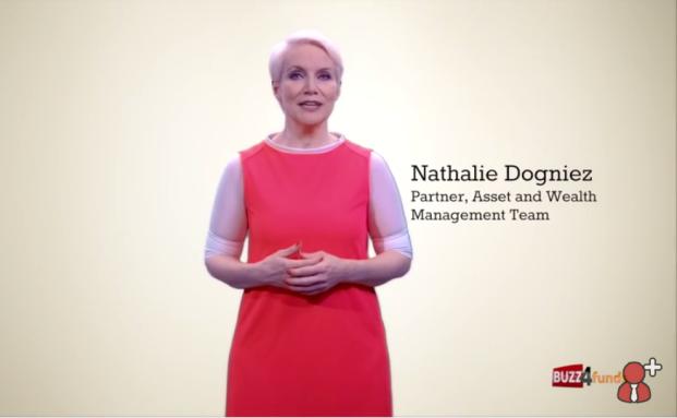 Nathalie Dogniez von Price Waterhouse Coopers im ersten Lehrvideo auf www.buss4funds.com
