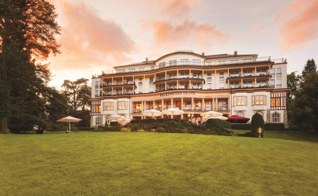 Veranstaltungsort des Private Wealth Excellence Forum: Das Falkenstein Grand Kempinski Hotel in Kronberg im Taunus