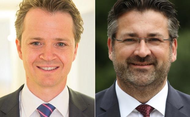 Fachanwalt für Bank- und Kapitalmarktrecht Philipp Hendel (l.) und Markus Köppl, Gründer der MK Anlegergesellschaft