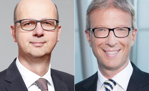 Christoph Dieng (l.) und Günter Tallner |© Nord/LB; Commerzbank
