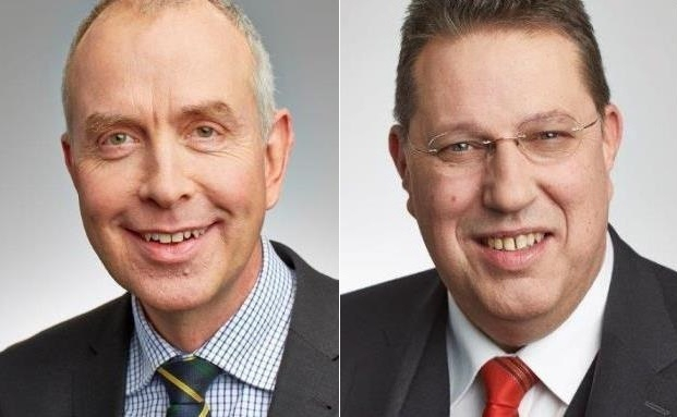 Die Stiftungsexperten Stephan Schleitzer (links) und Ulrich Burgard