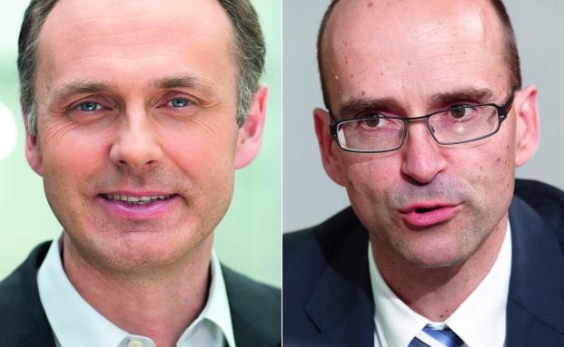 Thomas Schüßler (l.) und André Köttner