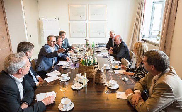 Beim Stiftungs-Workshop diskutierten Stiftungsverantwortliche und Stiftungs- sowie Anlageexperten den Anlagenotstand und wie man damit als Stiftung umgeht|© Johannes Arlt