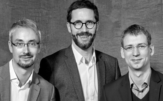 Das Elinvar-Führungsteam: Marco Neuhaus (v.l.n.r.), Chris Bartz und Sebastian Böttner
