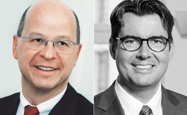 Der neue Vorsitzende der Vescore-Geschäftsleitung und sein Vorgänger: Christoph Ledergerber (l.) und Aris Prepoudis