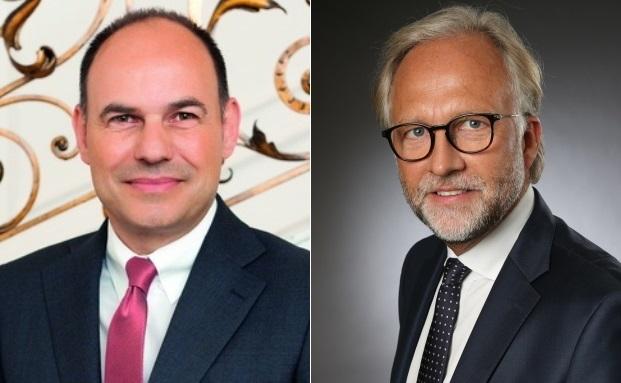 Bisher Merck Finck Privatbankiers, künftig nicht mehr: Ersin Soykandar (li.) und Michael Rietheimer