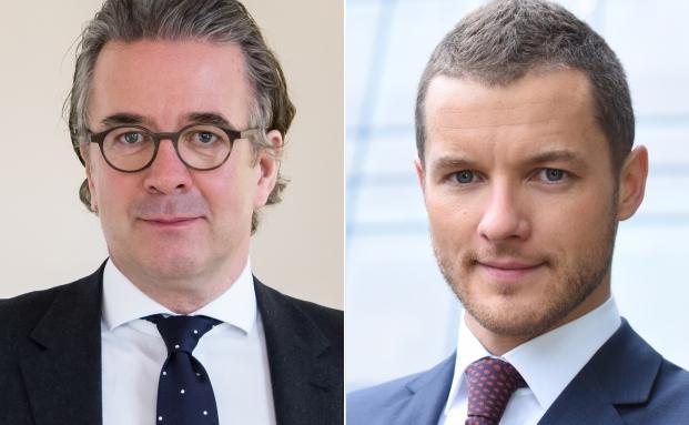 Unternehmensgründer Jens Spudy (li.) und Neuzugang Kai Neugebauer