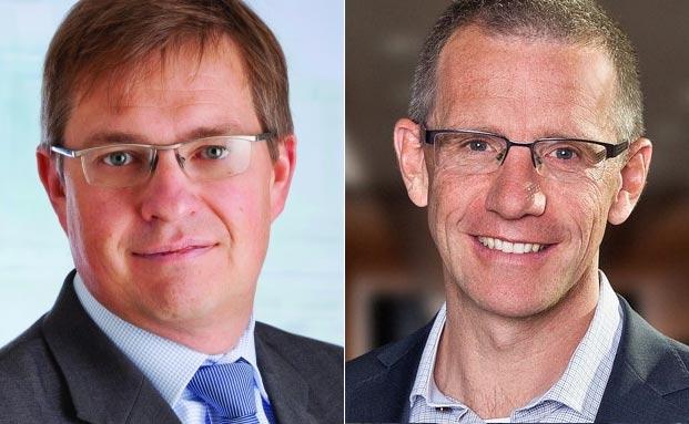 Der neue und der alte Chef: Christophe Girondel (li.) und Christian Hyldahl