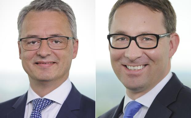 Anselm Gehling (l.), Leiter operatives Management für die gesamte Unternehmensgruppe und der Leiter Vertrieb Christoph Seeger