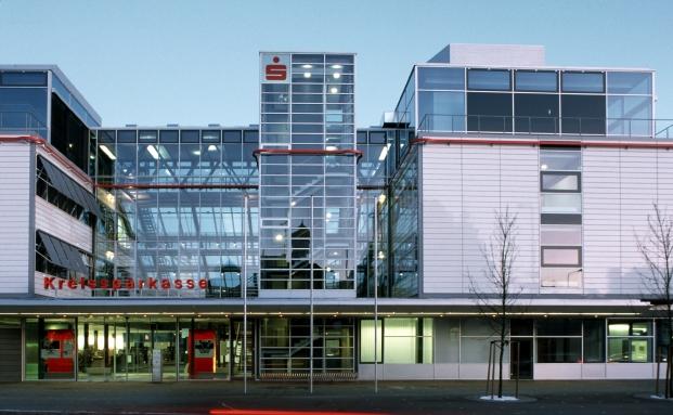 Die Kreissparkasse Biberach|© Valentin Wormbs - Neugebauer + Rösch Architekten