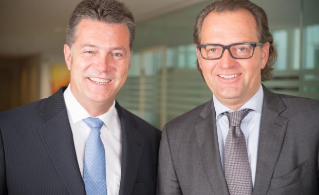 Die beiden AAB-Geschäftsführer Marco Schmitz (l.) und Bernhard Ismann