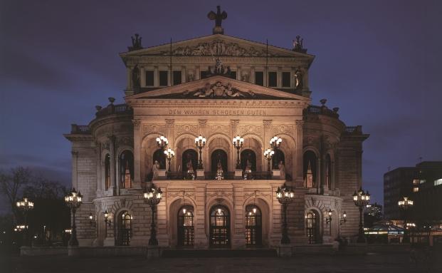 Hier werden die Juve Awards im Ramen einer Galaveranstaltung verliehen: Die Alte Oper Frankfurt
