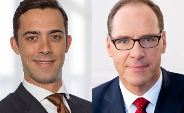 Florian Schild (li.) und Fabricius-Gründer und -Geschäftsführer MIchael Fabricius
