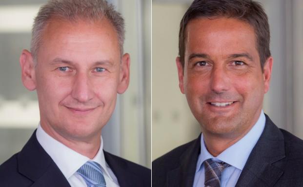 Die Competo-Gründer Ralf Simon (li.) und Thomas Pscherer