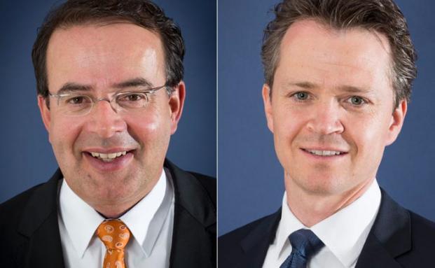 Thomas Elster und Philipp Hendel von der Wirtschaftskanzlei Roller & Partner