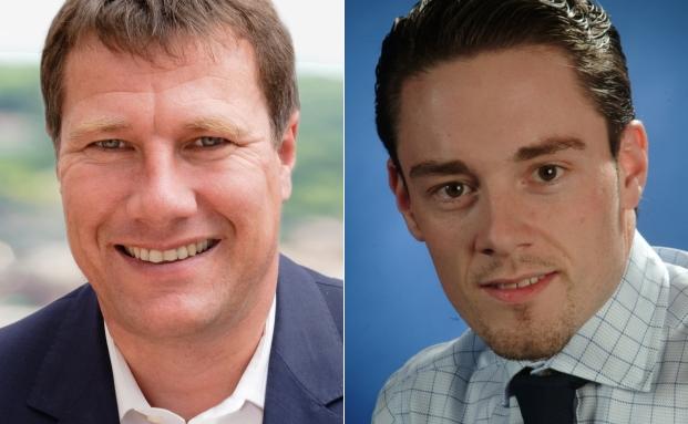Investmentchef Markus Mezger und Tiberius-Chef Christoph Eibl