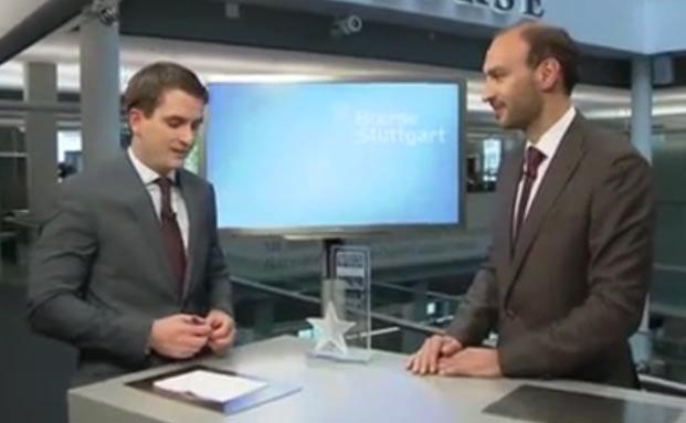 Franz Linner von Fintego im Interview mit Börse Stuttgart TV.