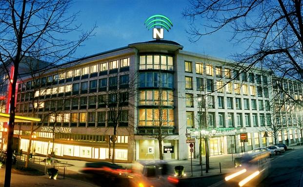 Die Hauptniederlassung der National-Bank in Essen