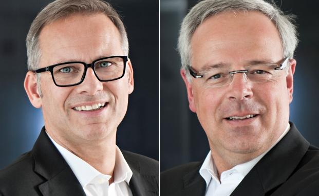 Thomas Lange (li.) und Oliver Sperl