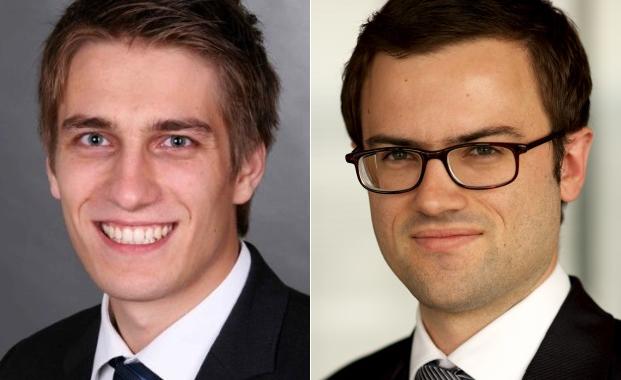 Fabian Leuchtner (l.) und Dimitri Widmann