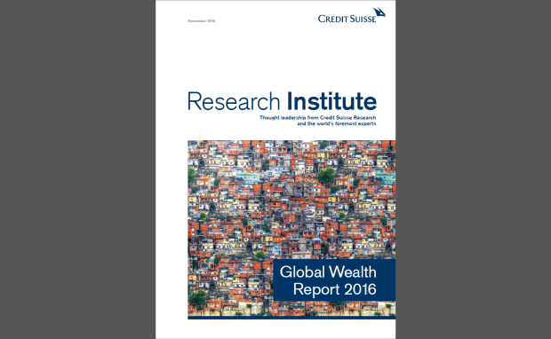Der Global Wealth Report 2016 des Credit Suisse Research Institute