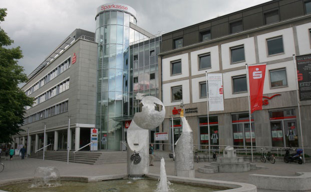 Niederlassung der Sparkasse Kraichgau in Bruchsal.|© Bubo