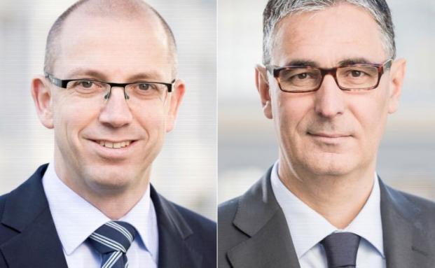 Markus Steinbeis (l.) und Gerd Häcker
