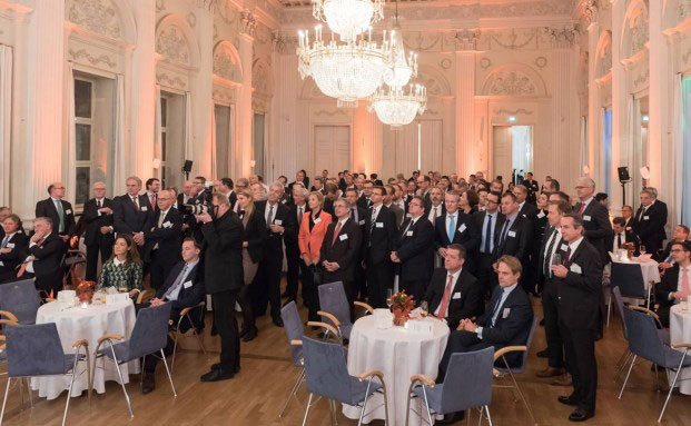 Die rund 200 Gäste der Preisverleihung des Elite Report in der Residenz München