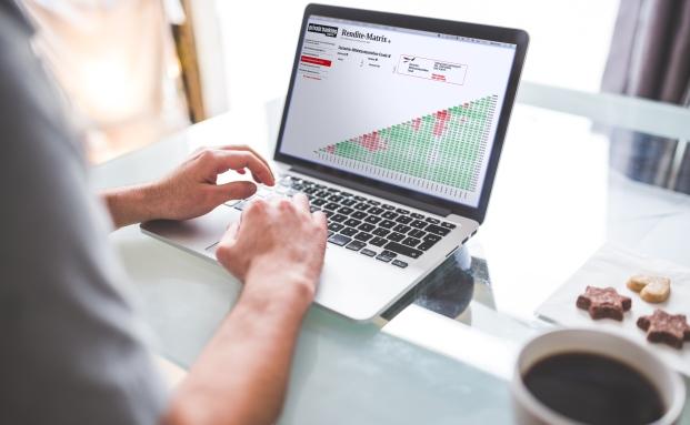 Neues Tool Rendite-Matrix: Über 1.000 Renditen je Fonds auf einen Blick