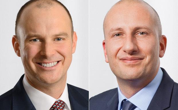 Christoph Sporer (l.) und Patrick Steiner
