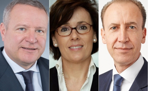 Drei der zehn befragten Personalberater: Wolfgang Morgenstern (l.), Heike Schwesinger und Andreas Halin