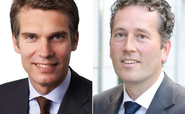 Valentijn van Nieuwenhuijzen (links), Leiter des Multi-Asset-Teams und Chefstratege, Maarten-Jan Bakkum (rechts), Senior Emerging Markets-Stratege bei NN Investment Partners