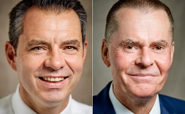Neben Martin Klein Geschäftsführer der Heidelberger Vermögen: Daniel Kolb (l.) und Stephan Schmidt