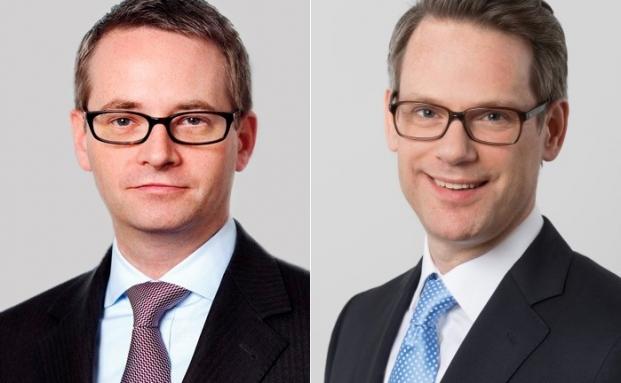 Nils Krause (l.) und Claus Jochimsen-von Gfug von der Sozietät DLA Piper