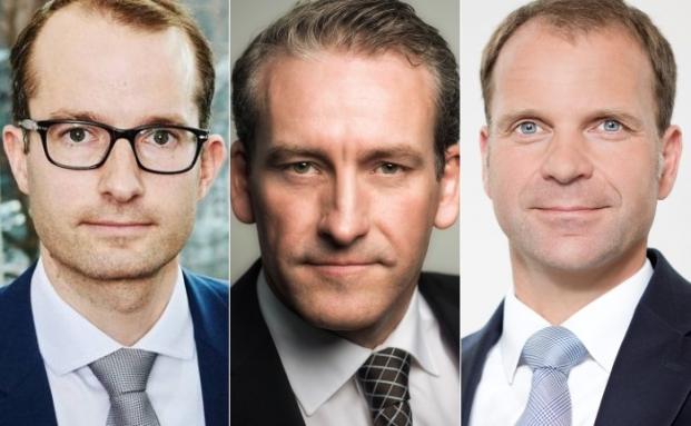 (v.l.n.r.): Dr. Fabian Meinecke, Michael Olfen (beide Sozietät Oberwetter und Olfen) sowie Ralph Kempcke vom Family Office Agusta