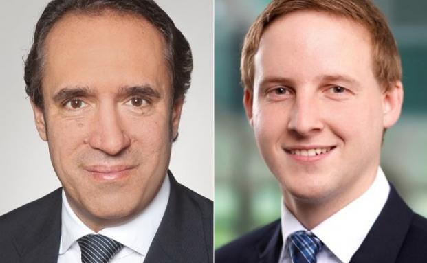 Sven Oberle (l.) und Christian Katzer von der Wirtschaftsprüfungsgesellschaft EY
